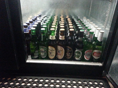 bottled beer and wine coolers